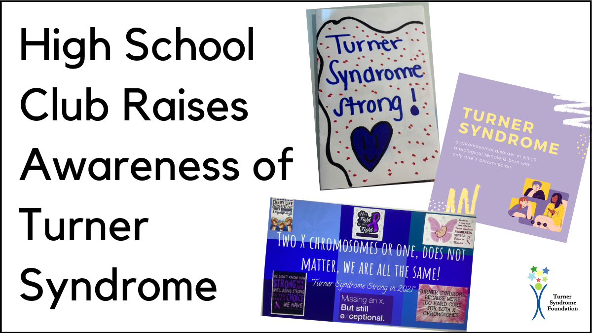 high school club raises awareness of turner syndrome